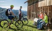 Biker und Wandernde - ein Miteinander